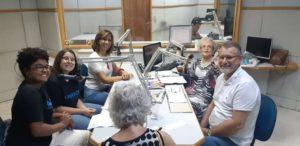 Estudantes falam sobre o Trote Solidário Uni-FACEF em programa de rádio