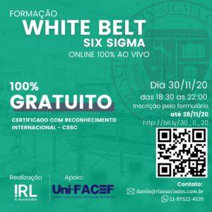 Curso gratuito de White Belt Six Sigma