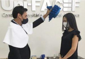 Uni-FACEF tem sua primeira formanda em Medicina
