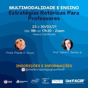 Minicurso de multimodalidade no ensino no Uni-FACEF