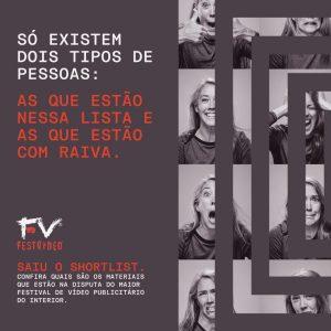 Curso de Publicidade e Propaganda do Uni-FACEF tem dois finalistas no FestVídeo 2021