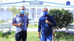 """Entrevista sobre os cursos de Computação do Uni-FACEF e sobre o programa """"Universitário Por Um Dia"""""""