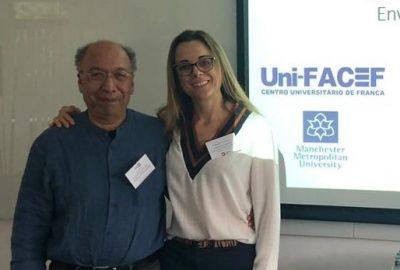 Artigo de professora do Uni-FACEF, sobre pesquisa realizada no Pós-Doutorado na Inglaterra, é publicado