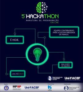 Começa o V Hackathon Uni-FACEF