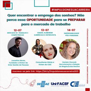 Evento online sobre vagas de trabalho em Franca e região