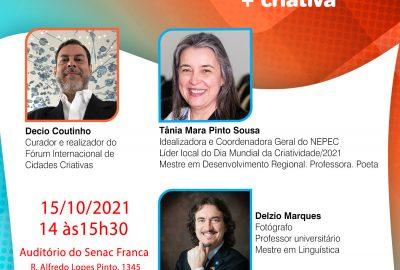 V Fórum Internacional de Cidades Criativas tem apoio do Uni-FACEF